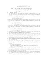 tài liệu Bài tập môn hóa vô cơ chương 1 và chương 2