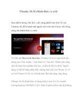 Ubuntu 10.10 chính thức ra mắt pdf