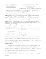 Đề+đáp án thi vào lớp 10 của các tỉnh P4