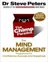 the chimp paradox - chimp peters
