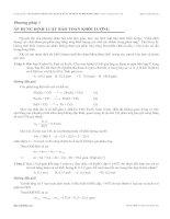 Phương pháp áp dụng định luật bảo toàn khối lượng môn hóa