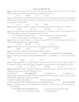 Bài tập hóa học phần cấu tạo nguyên tử potx