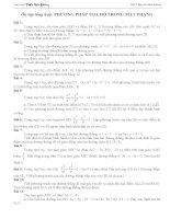 Ôn tập tổng hợp: PHƯƠNG PHÁP TỌA ĐỘ TRONG MẶT PHẲNG pot