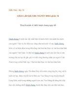 Kiến thức lớp 10 CÁCH LÀM BÀI VĂN THUYẾT MINH-thuyết minh về chiếc bành chưng ngày tết pot