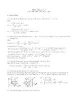 ví dụ và bài tập chương cấu trúc vật liệu