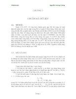 chương 3  chuẩn mã hóa dữ liệu