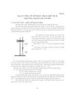 Bài 4   đại cương về phương pháp phân tích thể tích (phương pháp chuẩn độ )