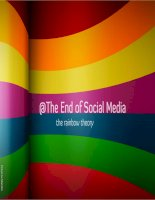 The Rainbow Theory: At The End of Social Media
