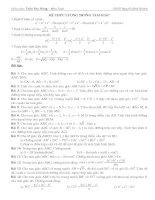 Giáo án hình học lớp 10 - tiết 40 đường hypebol pdf