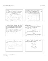 Chương 1: Bài toán quy hoạch tuyến tính docx