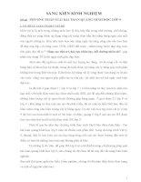PHƯƠNG PHÁP GIẢI BÀI TOÁN QUANG HÌNH HỌC LỚP 9 .