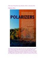 Cẩm nang sử dụng filter trong nhiếp ảnh - Phần 2 - Polarizers Filter Polarizers ppt