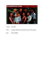 Juniper Networks Certified Internet Associate docx