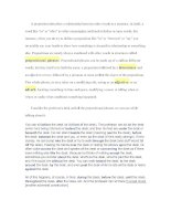 A preposition describes a relationship between other words in a sentence pdf