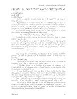 Bài Giảng Hóa Vô Cơ - Chương 6 ppsx