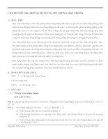 Chuyên đề ViiI. Phương pháp toạ độ trong mặt phẳng pps