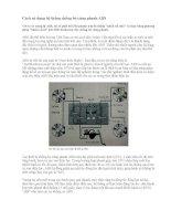 Cách sử dụng hệ thống chống bó cứng phanh ABS pdf