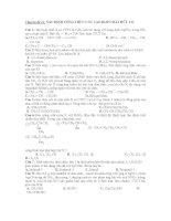 xác định công thức cấu tạo của hchc