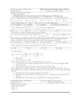 Đề thi vào lớp 10 các Tỉnh (08-09)