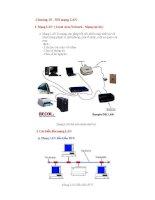 Giáo trình Tin học đại cương - Chương 15 - Nối mạng LAN docx