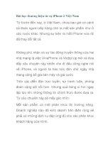 Bài học thương hiệu từ vụ iPhone ở Việt Nam pdf
