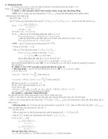 Phương pháp giải toán hóa hữu cơ pptx