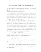 Bài Giảng Hóa Môi Trường - Chương 2 doc