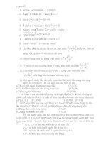 ôn tập toán đại số 11 cực chuẩn