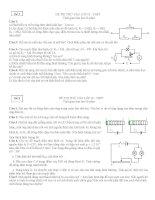 Một số đề thi thử vào lớp 10 THPT