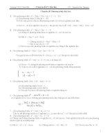 Chuyên đề phương trình Bậc hai pot