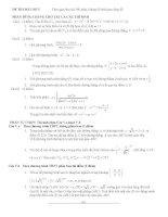 Đề số 5 - Đề tổng hợp luyện thi đại học môn toán chương trình không phân ban docx