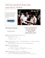 2008_Gợi ý giải đề môn Toán-120ph_tuyển s lớp 10_ TP.HCM