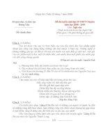 2008- hướng dẫn chấm thi -Văn CHUYÊN(150 ph) tuyển s lớp10- Hưng Yên
