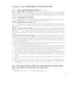 Công nghệ phục hồi Chi tiết máy - Chương 4 pptx