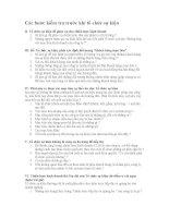 Các bước kiểm tra trước khi tổ chức sự kiện