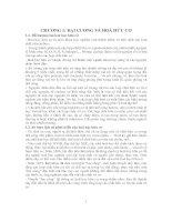 Bài Giảng Hóa Hữu Cơ 1 - Chương 1 pps