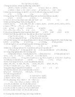 Ôn tập môn hóa học lớp 10 pdf