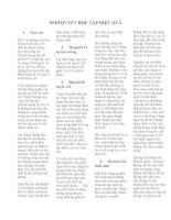 50 BÍ QUYẾT HỌC TẬP HIỆU QUẢ potx