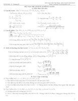 HÌNH HỌC 12 - Chương III pptx