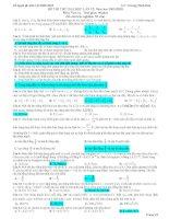 20 ĐỀ THI THỬ VẬT LÝ (BỘ 1) - ĐỀ SỐ 12 pptx