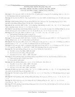 Những bài toán thi đại học - Phương trình đường thẳng, đường tròn và các đường conic trong mặt phẳng pot