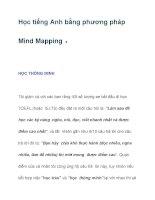Học tiếng Anh bằng phương pháp Mind Mapping ppsx
