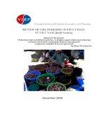Nghề đánh bắt thủy hải sản tại Việt Nam (bản dự thảo) docx