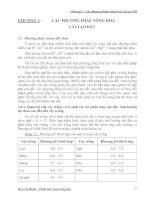 Bài Giảng Hóa Kỹ Thuật 2 - Chương 3 pptx
