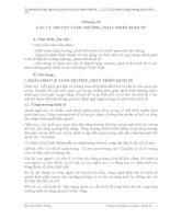 Chương 12- Các lý thuyết tăng trưởng, phát triển kinh tế potx