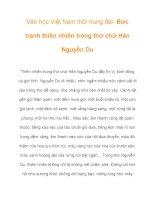 Văn học Việt Nam thời trung đại- Bức tranh thiên nhiên trong thơ chữ Hán ppsx