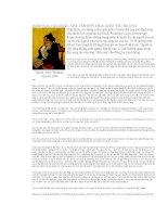 DANH HỌA VAN GOGH - MỘT TÂM HỒN KHAO KHÁT YÊU THƯƠNG potx