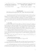 1330/KH-SGDĐT KH bồi dưỡng chuyên môn hè 2010 (cấp TH)