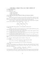 Bài Giảng Hóa Hữu Cơ 1 - Chương 4 pps