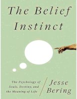 the belief instinct.the psychology of souls destiny and the meaning of life - jesse bering